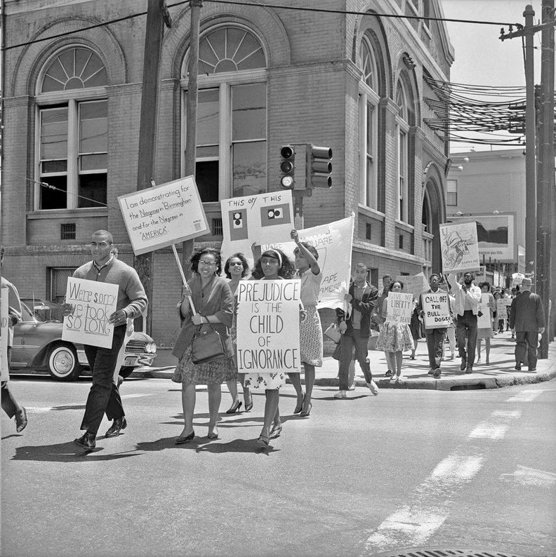 1963 civil rights demonstration at Turk and Fillmore.jpg
