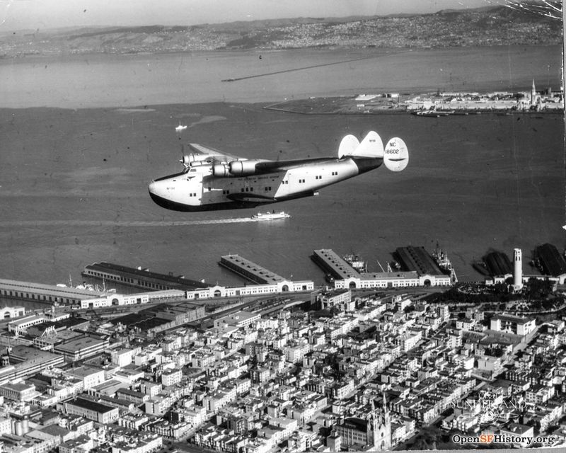 China Clipper over SF circa 1939 wnp27.4688.jpg