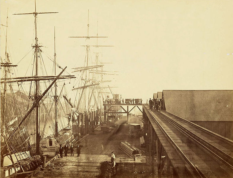 File:Pacific-Mail-Steamship-Co-docks-1871-Carleton-Watkins.jpg