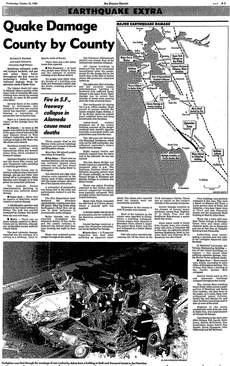 News Article San Francisco Chronicle October 18 1989 p5.jpg