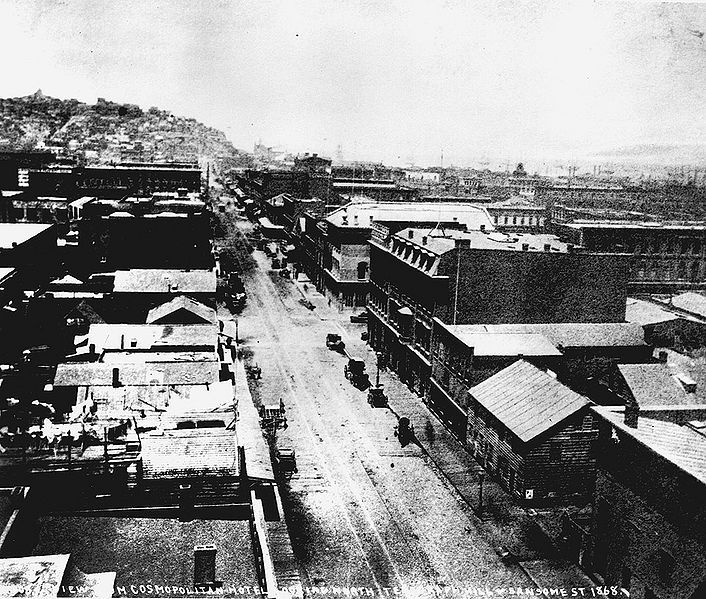 File:View-north-from-Cosmpolitan-Hotel-on-Sansome-Street-towards-Telegraph-Hill-1868.jpg