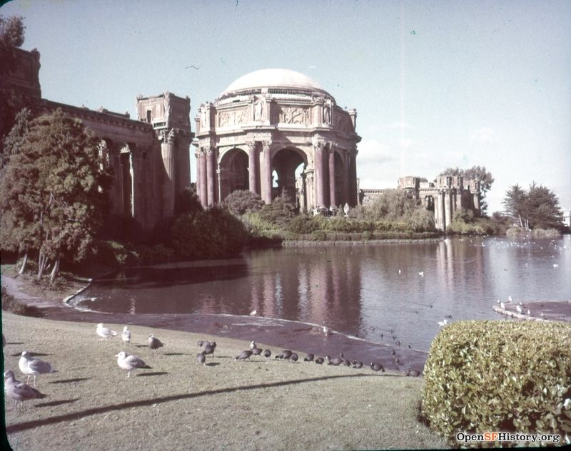 Palace of Fine Arts circa 1962 wnp25.6502.jpg