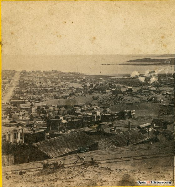 File:View from Sacramento and Taylor towards Mission Bay 1860 wnp24.0149a.jpg