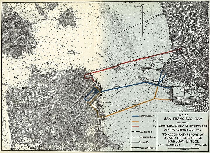 Alternate routes for Bay Bridge 1927 4421366172 3eda7a32b3 o.jpg